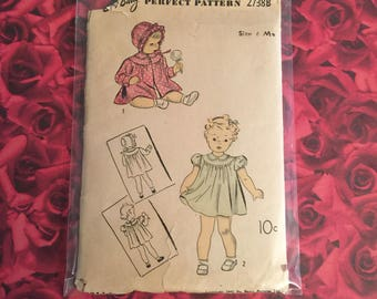 40's Vintage Du Barry Sewing Pattern