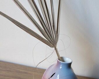Unique Vintage BAATZ Seaside Sunset Flower Vase