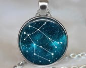 Gemini Constellation necklace, Gemini necklace Gemini pendant Constellation jewelry Constellation pendant Zodiac jewelry Zodiac key chain