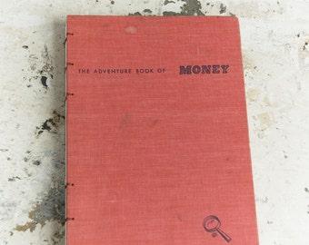 1956 MONEY Vintage Sketchbook Journal