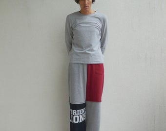 Penn State University T-Shirt Pants Unisex Pants Womens Clothing Women's Pants S - M Lounge Pants Cotton Pants Handmade Pants ohzie