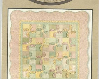 Quilt Pattern Modern Quilt Pattern Pinwheel Posies by Cotton Way Collection