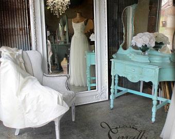 H O L L Y W O O D  Leaning Mirror H U G E Floor Mirror Regency Shabby Chic Baroque