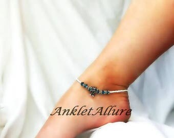 Palm Tree Anklet  Beach Ankle Bracelet Island Cruise Jewelry Body Jewelry Resort Anklet Guaranteed for a Year