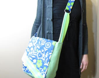 Messenger Bag Summertime Royal Blue