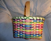 Handmade Large Williamsburg Style Easter Basket - Still time before Easter
