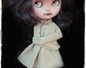 CRAZY MASIE Asylum girl Icy Doll Blythe custom doll by Antique Shop Dolls