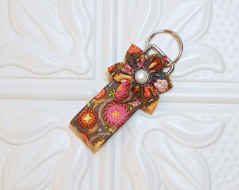 Key Fob Fabric Key Chain