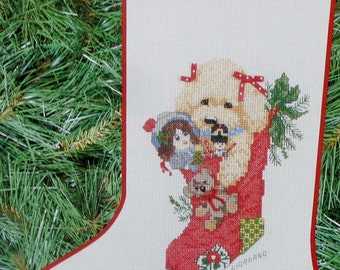 Paragon Needlecraft | THE JOY Of CHRISTMAS | with Animals Pets Stockings (Multiple Designs) | Counted Cross Stitch Pattern | Chart Booklet