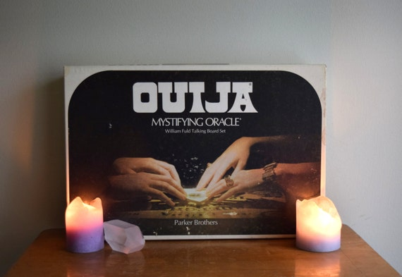 Spirit Board - Vintage 1972s William Fuld Ouija Board - saged and cleansed, talking board.