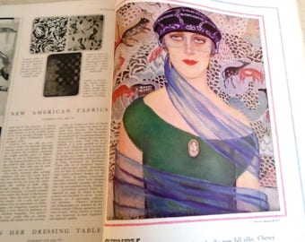 Vintage 1920s Vogue Magazine September 1st 1924 Original Full Issue