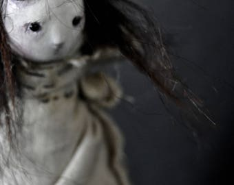 OOAK Art Doll - The Abandoned One- Senga