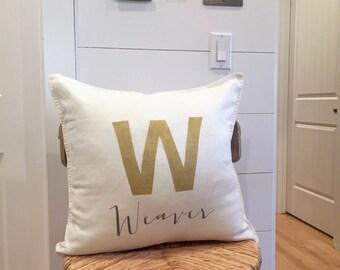 Pillow,French Linen,Custom Pillow,Custom Cover,Monogrammed Pillow,Monogram Pillow,Initial Pillow,French Pillow,Farmhouse Pillow,Pillow Cover