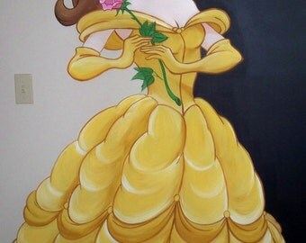 Estimate for Princess Belle Mural **Please Read Descrption**