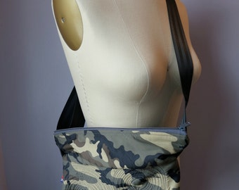 micro bag: camo, washable, lightweight, durable and vegan