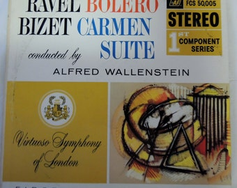 Ravel Bolero Bizet Carmen Suite, Conducted by Alfred Wallenstein