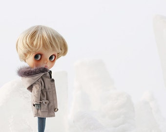 Missyo 2017 Winter & Spring - Wind Breaker for Blythe doll - Grey