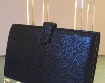Vintage St. Thomas Navy Blue Travel Wallet