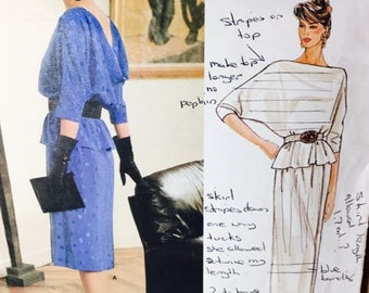 Vogue Designer Original Bellville Sassoon top and skirt