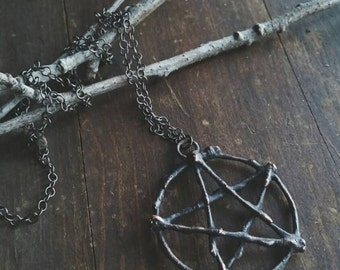 The Willow Woods Pentacle Necklace