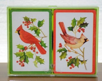 Hallmark Cardinals Bridge Playing Cards in Plastic Case