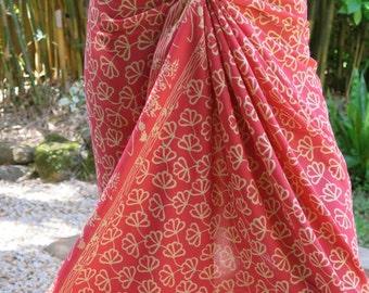 Soft Pink Sarong, Pareo, Wrap
