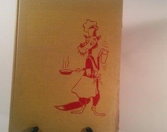 Vintage cookbook for men