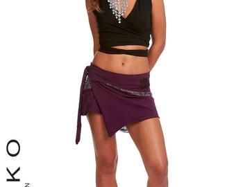 Elf skirt, psytrance skirt, PIXIE SKIRT, ethnic skirt, goa Skirt, wrap Skirt, Pixie Mini Skirt, Lbskcp