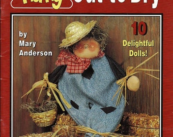 Hang Out To Dry Craft Pattern Book  Grace Publications 094111