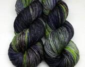 Ewetopia Worsted, Hand dyed yarn, Superwash Merino Wool, 218 yds/ 100g: Orbital.