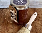 Handmade Chalk Paint, Chocolate, Furniture Paint, Brown Paint, Farmhouse Kitchen, Distressed, Rustic, DIY, Painted, Shabby, Home Decor, Vase