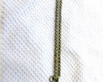 Antique French Watch Chain and Mary Fob