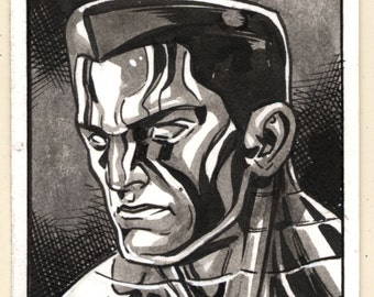 Colossus: X-men Sketch Card