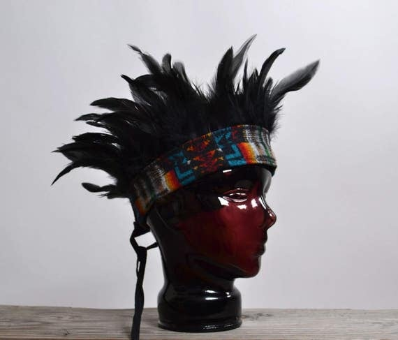 Feather Festival Headband  - Burning man - Festival Headbands - Hippie - Festival Fashion - Festival Accessories