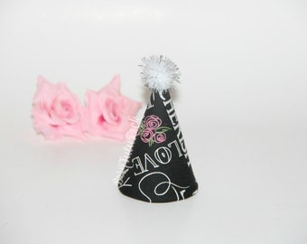 Bridal Party Hat // Bride Mini Party Hat // Ready to Ship // by Born TuTu Rock