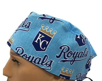Unisex Scrub Cap - Sporting Kansas City Royals Scrub Cap - Scrub Hat - Scrub Cap - KC Sporting Club Scrub cap - Tech Cap - Nurse's Gift