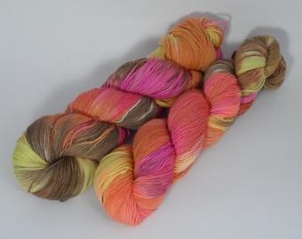 Autumn Leaves Variegated 4ply Sock Yarn 100g