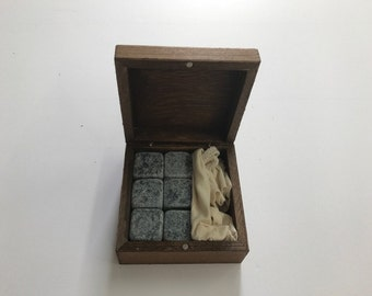 Cool Groomsmen Gift of 6 Engraved Large Whiskey Rocks, Unique & Personalized Present, Best Man Thank You Present, Made in the USA, Groomsmen