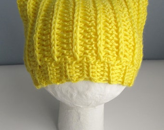 Baby Hat Pattern / Crochet Baby Cat Ear Hat / Newborn Crochet Cat Ear Beanie / Crochet Cat Ears Baby Hat /  Baby Hat Pattern / New Baby Gift