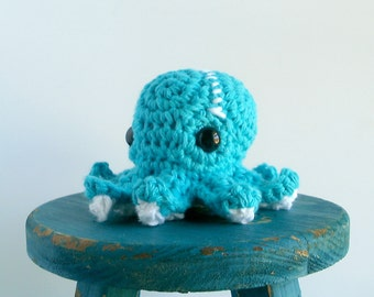 Monday the Baby Crochet Octopus