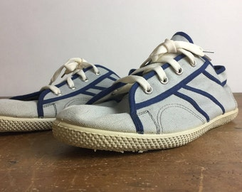 Vintage Unused Soviet Sneakers, Rare shoes, 1960s Czechoslovakian, Deadstock, Partizanske