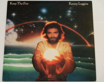 """Kenny Loggins - Keep The Fire - """"Love Has Come of Age"""" - Soft Rock - Columbia Records 1979 - Vintage Vinyl LP Record Album"""