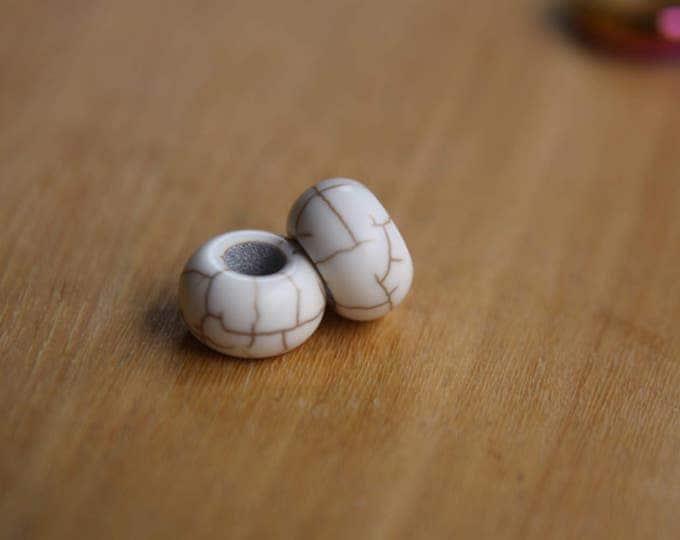 5 White Ceramic 5mm (7/32 Inch)