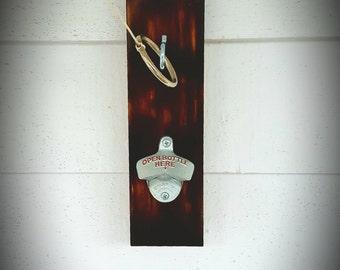 Ring Game / Bottle Opener... aka Ring Toss, Hook & Ring game. Perfect for the backyard bar