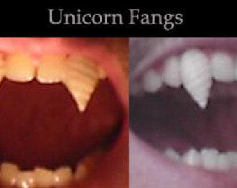 Unicorn Fangs (Custom made from scratch)
