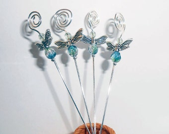 Martini Picks, Dragonfly Martini Picks,  Appetizer Skewers, Cocktail Picks/Skewers, Party Picks, Food Picks, Gift Basket Item