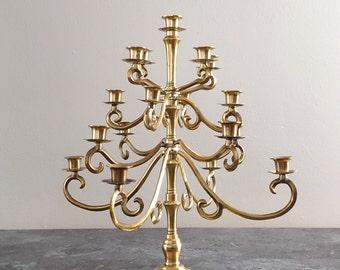 Vintage Candelabra 17 Candles 5 Tier Candle Holder
