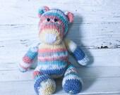 Bear - Stuffed Bear - Painted Bear - Stuffed Animal - Animal - Toy