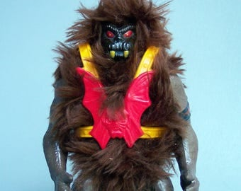 Vintage He-Man (MOTU) Black Face Grizzlor 100% Complete C85 Near Mint