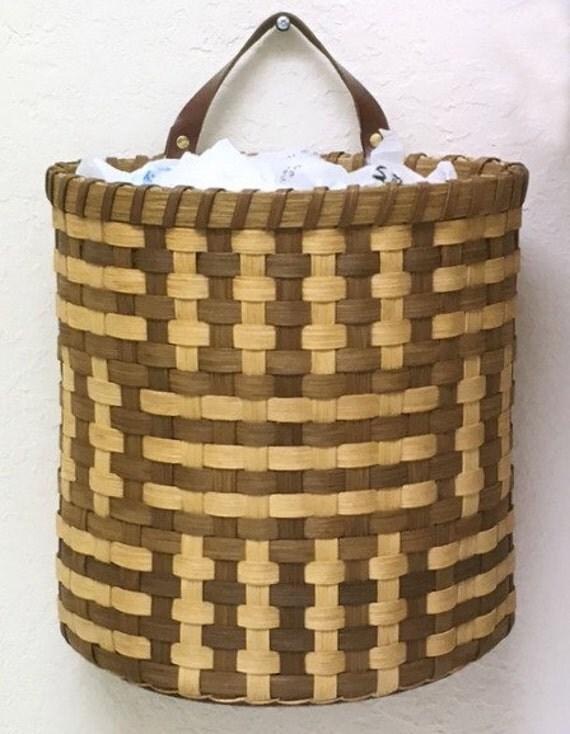 Basket Weaving Kits : Basket weaving kit quot zelda recycled bag holder